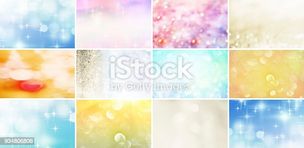 istock Glitter and Defocused Lights Collection 934806806