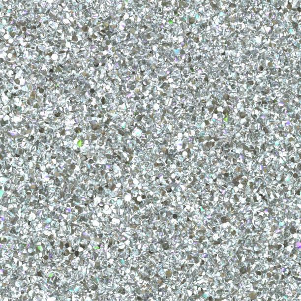 glitter y diamante textura sin costuras, ilustración 3d - brillante fotografías e imágenes de stock