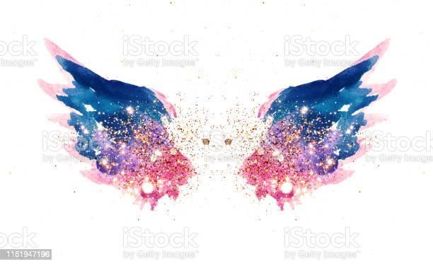 Glitter and glittering stars on abstract pink and blue watercolor in picture id1151947196?b=1&k=6&m=1151947196&s=612x612&h=swe7bltecufeo3pz9 aqqjruf8uatqnpnpq1apk6nzi=