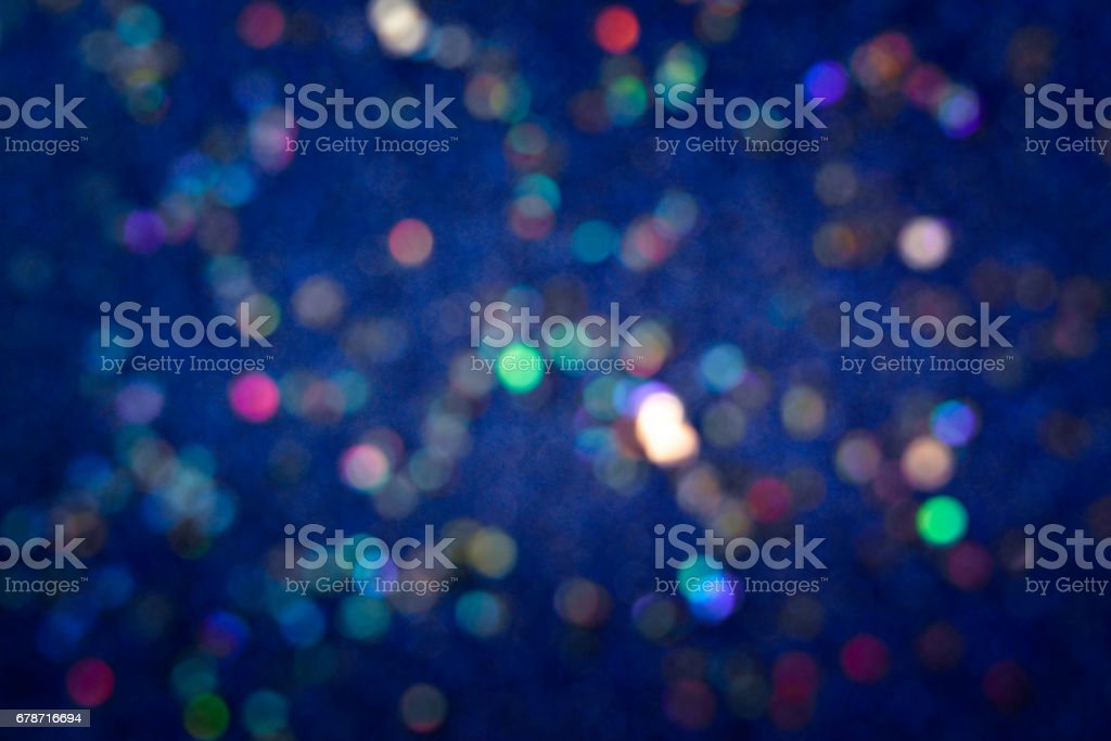 Glitter blue background  - defocus photo libre de droits
