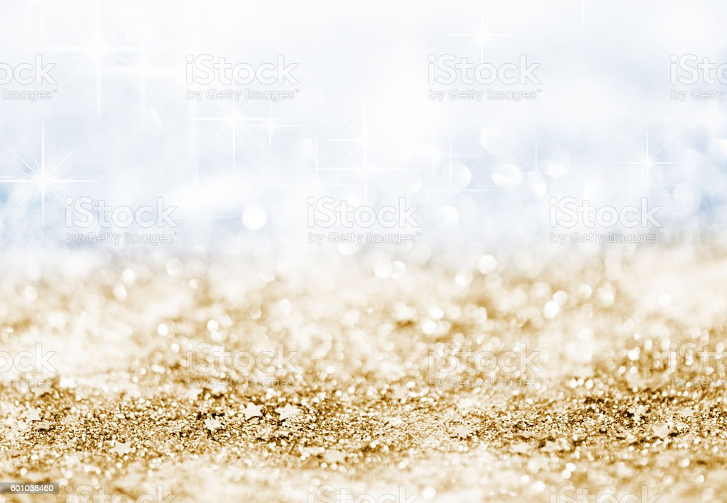 Glitter Defocused Background stock photo