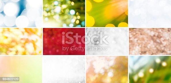 istock Glitter, Defocused Lights and Gradients 934822120
