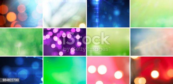 istock Glitter, Defocused Lights and Gradients 934822700