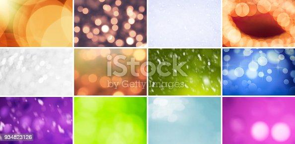 istock Glitter, Defocused Lights and Gradients 934823126
