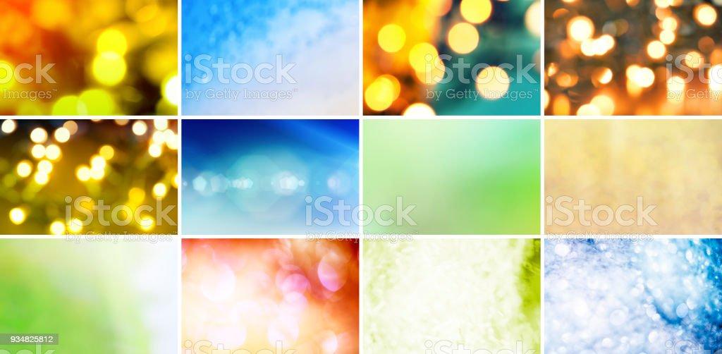반짝이, Defocused 조명 및 그라데이션 - 로열티 프리 0명 스톡 사진