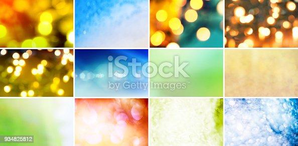 istock Glitter, Defocused Lights and Gradients 934825812
