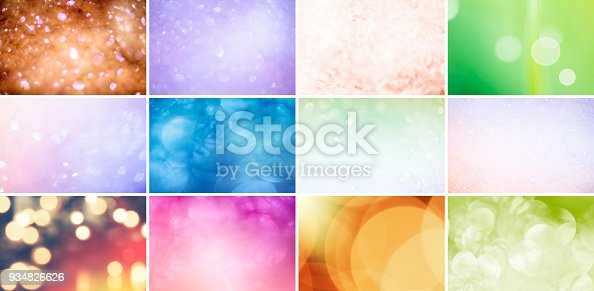 istock Glitter, Defocused Lights and Gradients 934826626