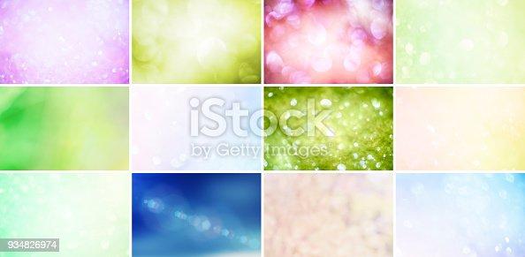 istock Glitter, Defocused Lights and Gradients 934826974
