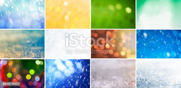 istock Glitter, Defocused Lights and Gradients 934829432