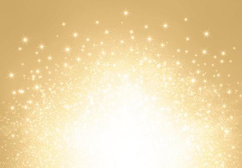 istock Glitter gold explosion 875394266