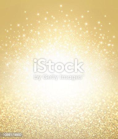istock Glitter gold textured background 1059174852