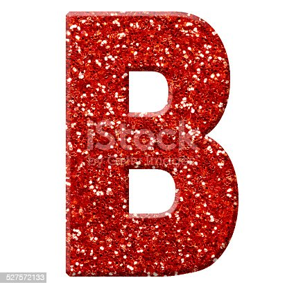 Glitter Letter B Stock Photo Amp More Pictures Of Alphabet