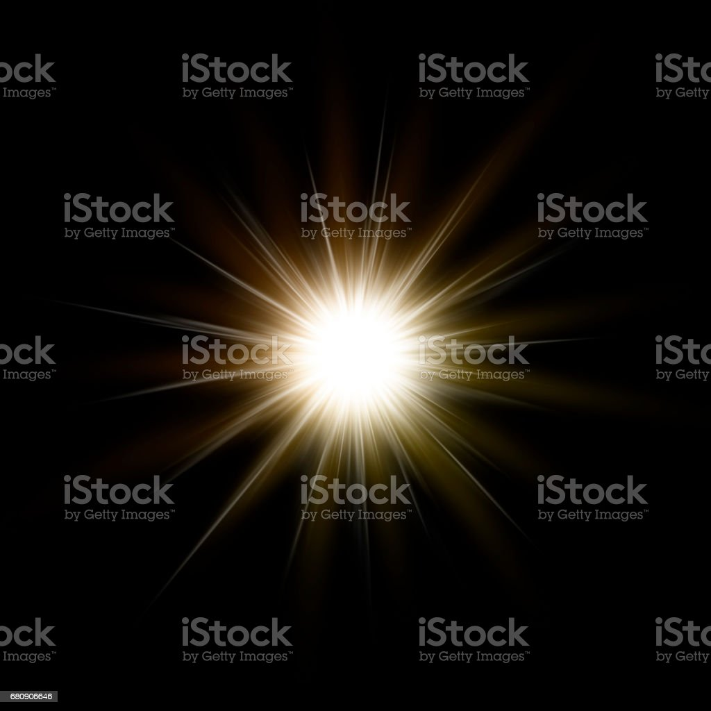 glitter light sparkle, abstract background stock photo