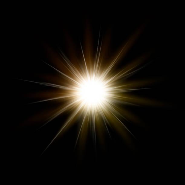 キラキラ光輝き、抽象的な背景 ストックフォト