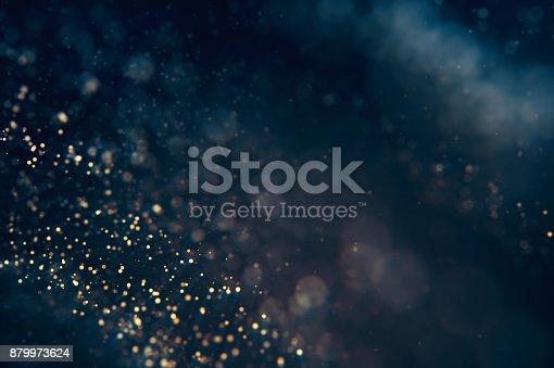 879975976 istock photo Glitter lights abstract defocused background 879973624