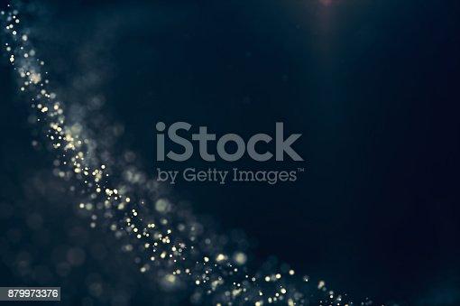 879975976 istock photo Glitter lights defocused background 879973376