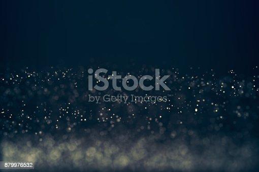 879975976 istock photo Glitter lights defocused background 879976532