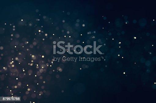 879975976 istock photo Glitter lights defocused background 879976788