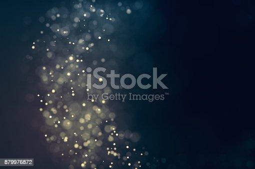 879975976 istock photo Glitter lights defocused background 879976872