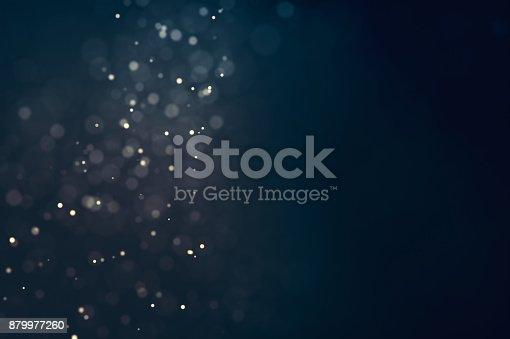 879975976 istock photo Glitter lights defocused background 879977260