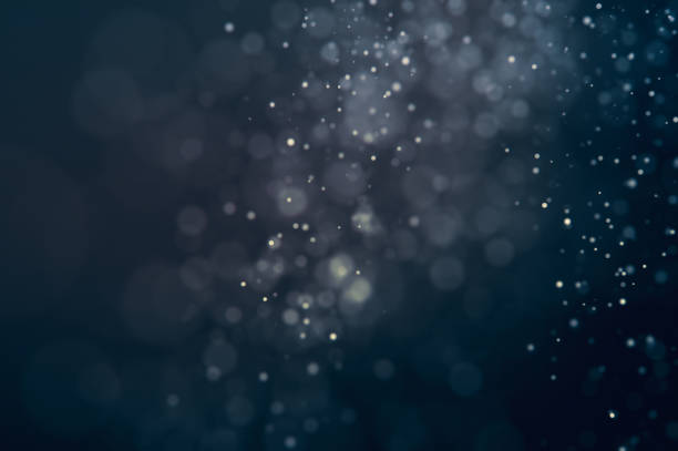 Glitter lights defocused background stock photo