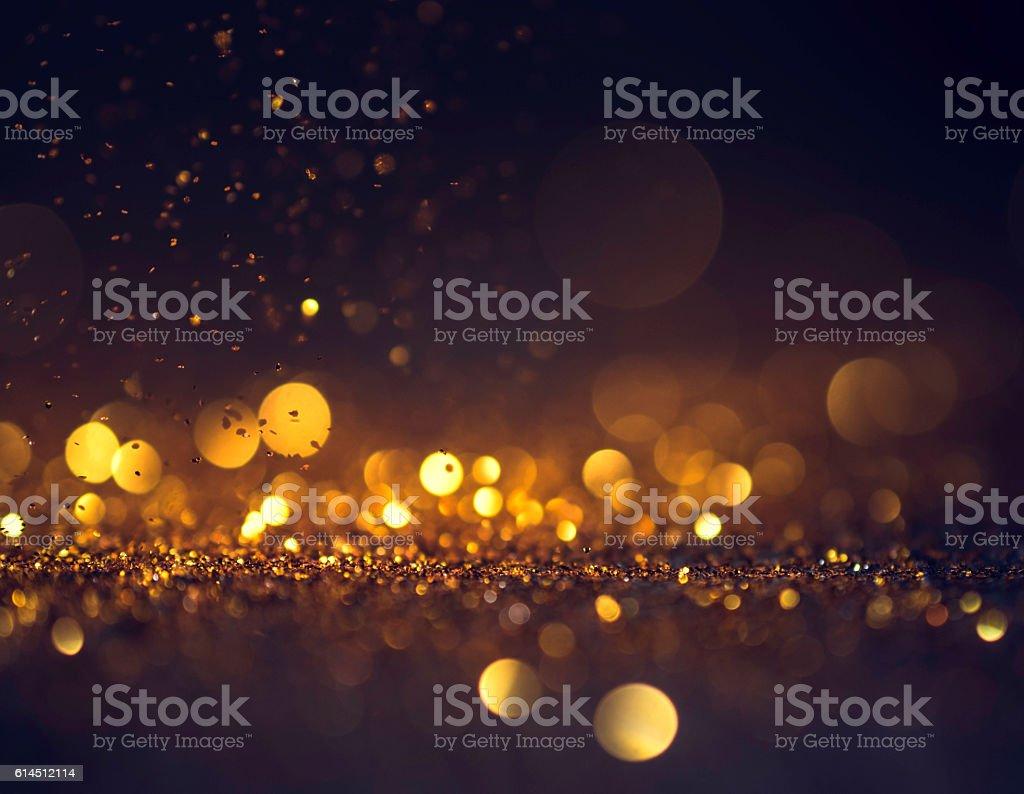 glitter lights grunge background, glitter defocused abstract Twi stock photo