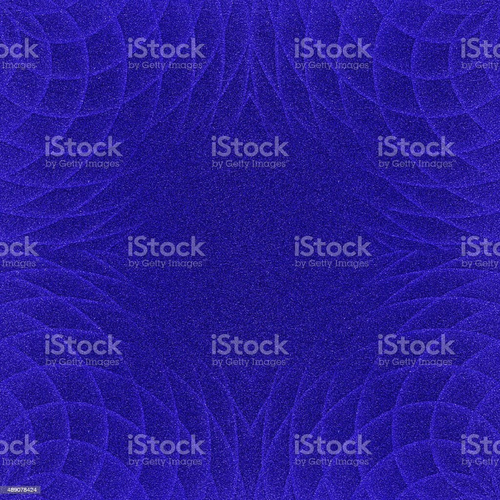 Glitter paper with digitally generated spiral pattern stock photo