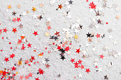 istock Glitter stars, abstract christmas background texture 1185300516