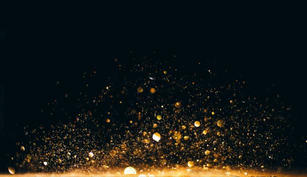 Glitzer Vintage Lichter Hintergrund. Defocused – Foto