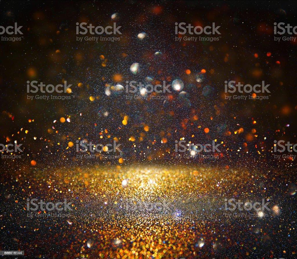 glitter vintage lights background. de-focused foto stock royalty-free