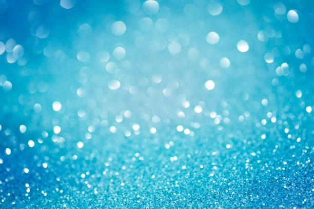 Glitter vintage lights, elegant glittering defocused background stock photo