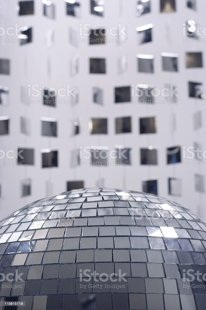 glitterball royalty-free stock photo