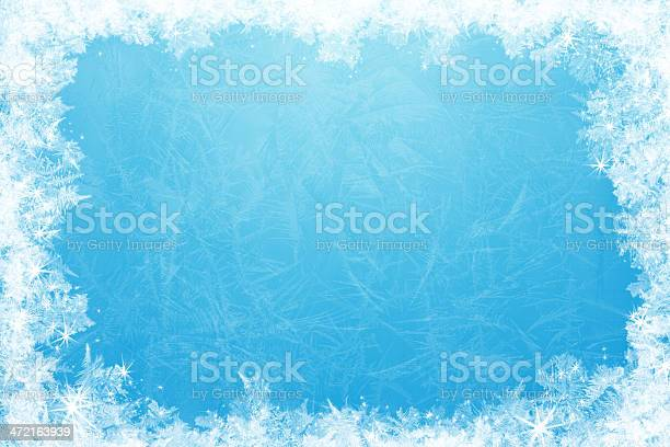 Photo of Glittering ice frame