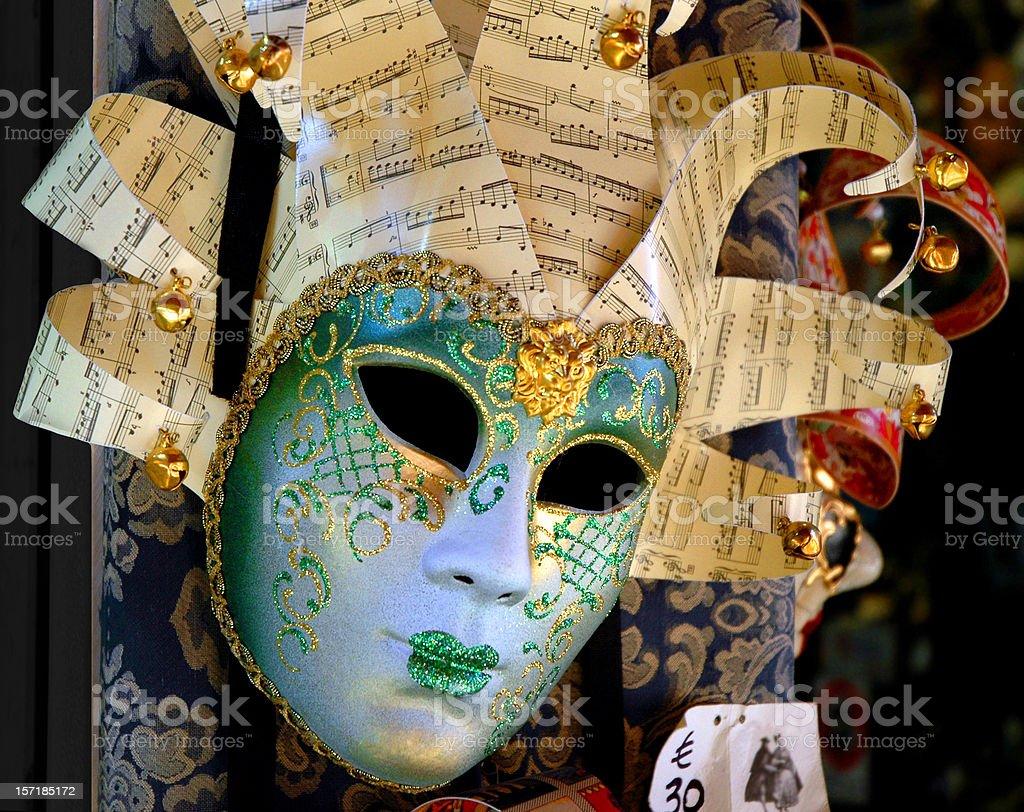 Glittering Venetian Mask royalty-free stock photo