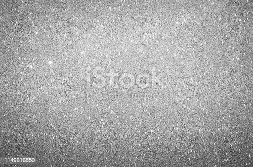 866754590 istock photo Glittery background bright shiny silver color 1149616850
