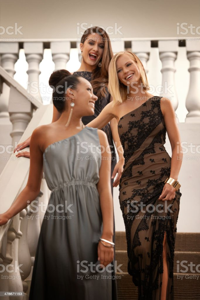 Glitz and glamour stock photo