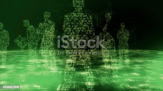 istock Global business, big data 495687359