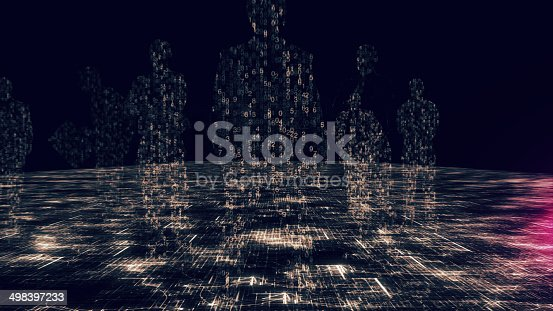 istock Global business, big data 498397233