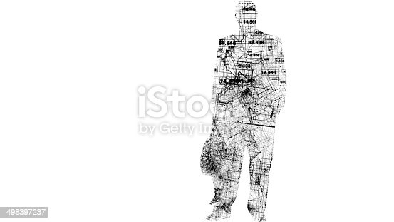 674717286 istock photo Global business, big data 498397237