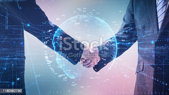 1079974636 istock photo Global business concept. Communication network. 1180562750
