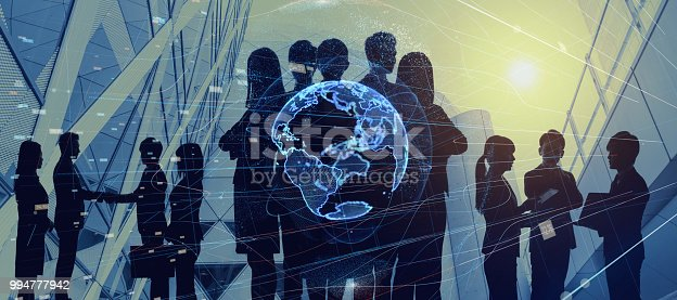 istock Global business concept. Group of businessperson. 994777942