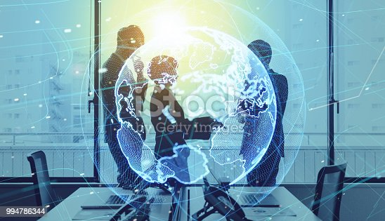 istock Global business concept. Group of businessperson. 994786344