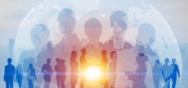 Global business concept. Network of business. Diversity. stock photo