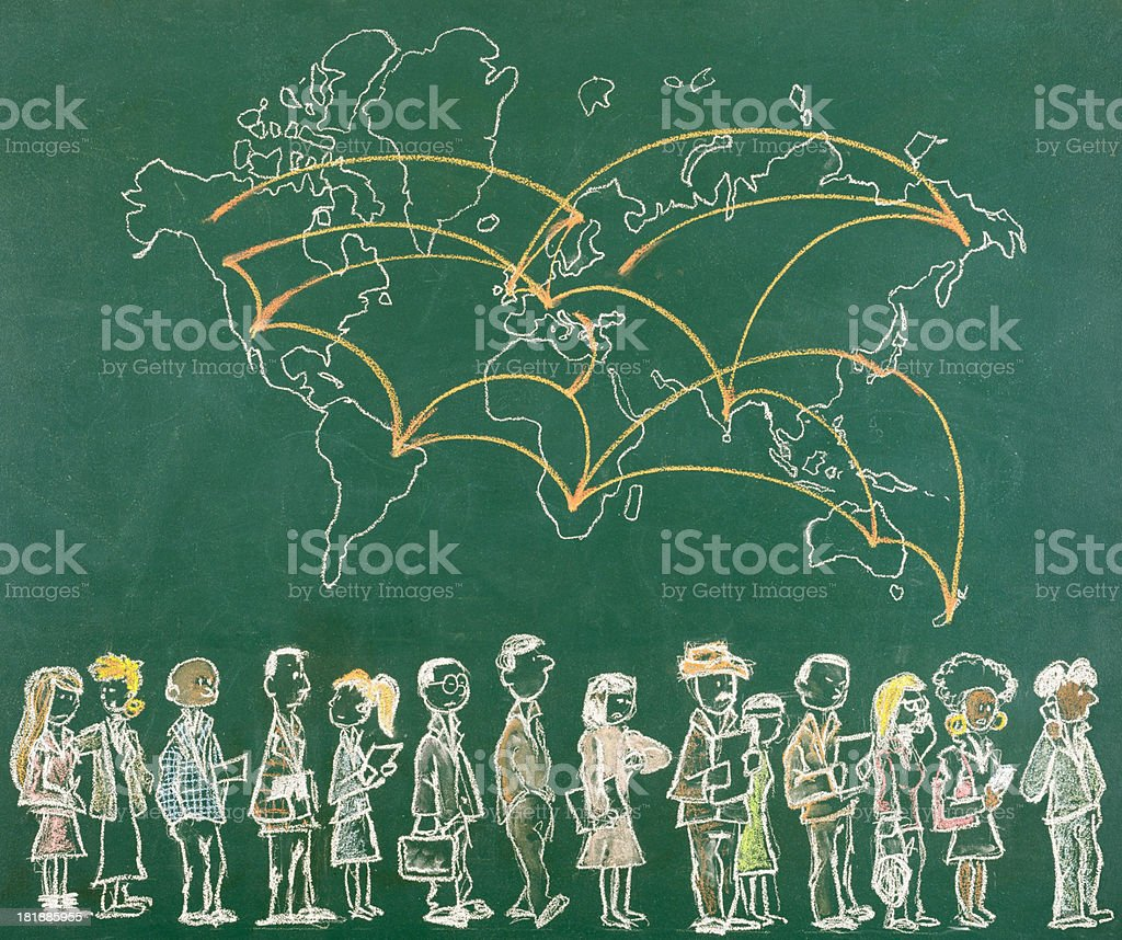 Global Business Concept royalty-free stock photo