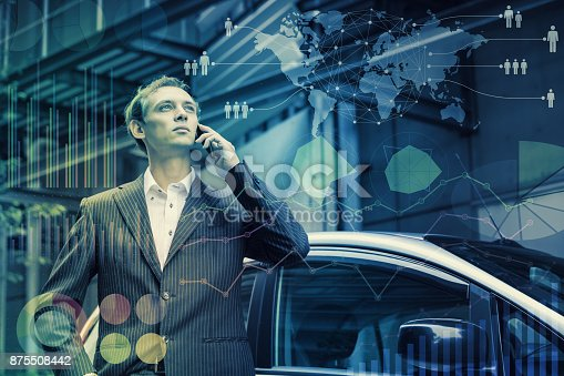 istock Global business concept. 875508442