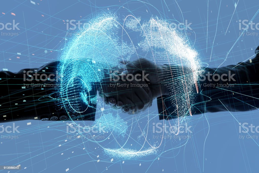 Global business concept. Global business concept. Abstract Stock Photo