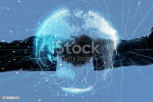istock Global business concept. 913588342