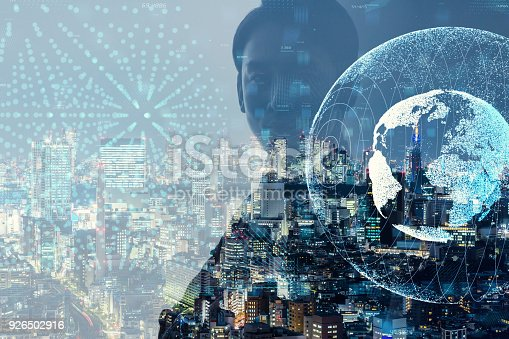 istock Global business concept. 926502916