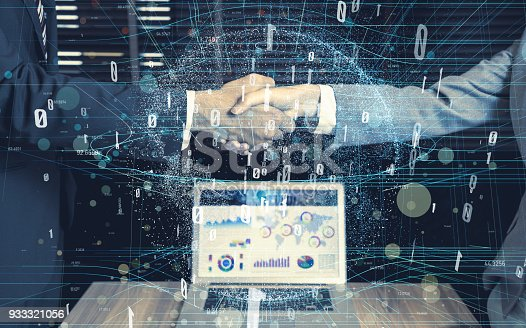 istock Global business concept. 933321056