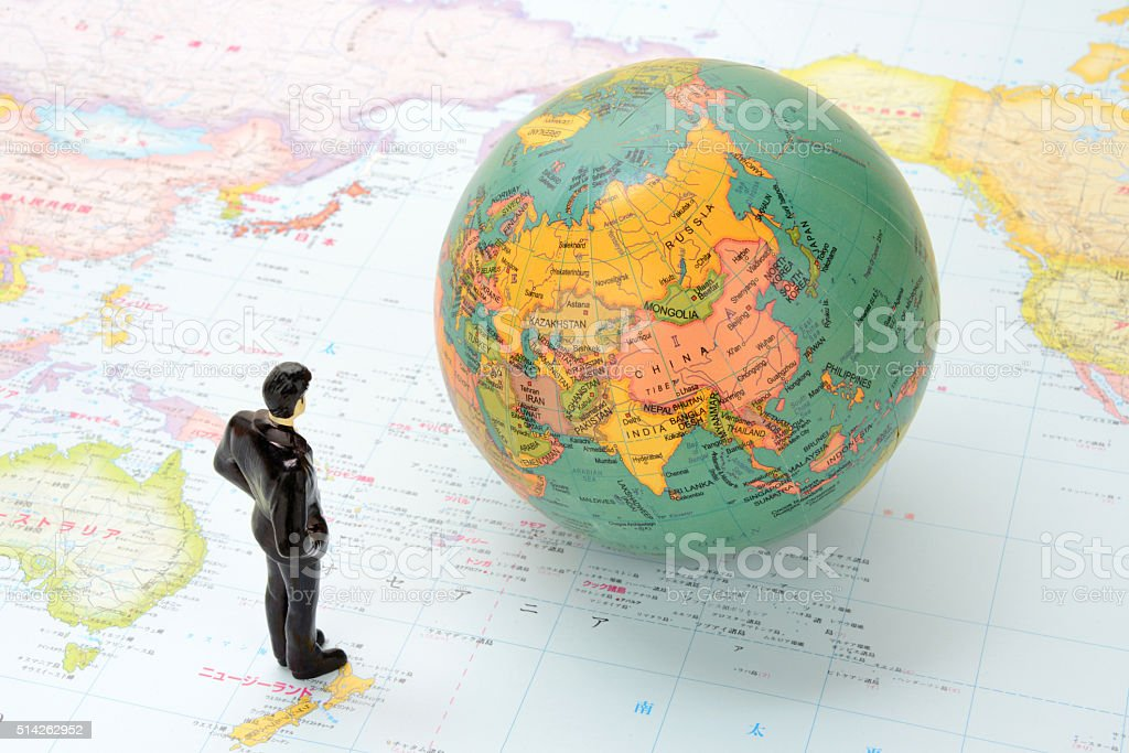 Global business concepts stock photo
